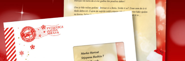 Svi koji odluče razveseliti najmlađe pismom Djeda Mraza ulaze u popis za izvlačenje nagrada, a dobitnici će biti proglašeni 5. siječnja 2017. godine