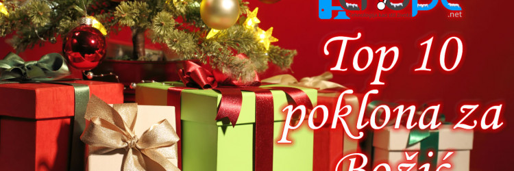 Kako je pred kraj godine i vrijeme božićnih blagdana, naš izbor ujedno je i izbor top 10 poklona s kojima ne možete pogriješiti kada su u pitanju zaljubljenici u tehnologije.