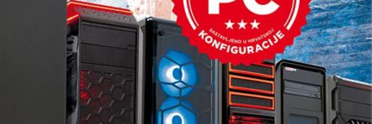 Na tri fronte uspoređuju čak 27 različitih domaćih PC konfiguracija