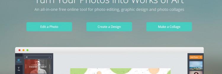 Aplikacija nudi tri glavna module: obradu fotografije, izradu dizajna te izradu kolaža