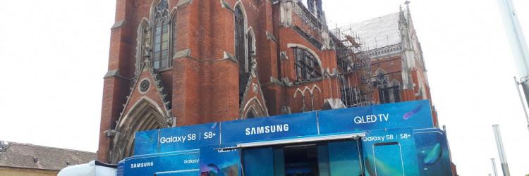 Usred najtoplijeg godišnjeg doba, tijekom druge polovice srpnja, od 20. do 28. srpnja, Samsung Roadshow predstavit će novitete u sjevernom i istočnom dijelu Hrvatske – od Varaždina do Osijeka i time zaokružiti ovu jedinstvenu tehnološku avanturu