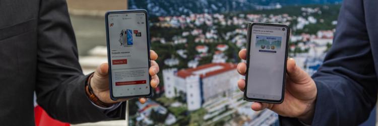 Ugovorom vrijednim 111.945,46 kuna, A1 Hrvatska se obvezala isporučiti i instalirati aktivnu i pasivnu mrežnu opremu te održavati sustav širokopojasne mreže, što je realizirano u svega tri tjedna