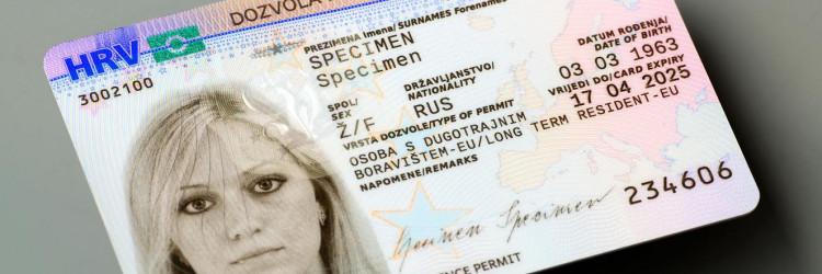 U sklopu provedbe ovog projekta AKD je izradio i kartice biometrijskih dozvola boravka