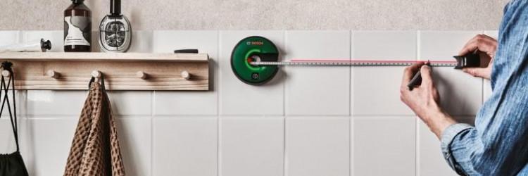 Za omogućavanje preciznog označavanja prve referentne točke, Atino je opremljen rupom za označavanje u središtu uređaja
