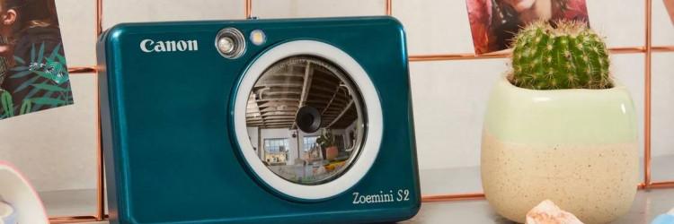 Kompaktnog oblika i mase svega 188 grama, Canon Zoemini S2 savršen je džepni fotoaparat i trendi dodatak za godišnji odmor
