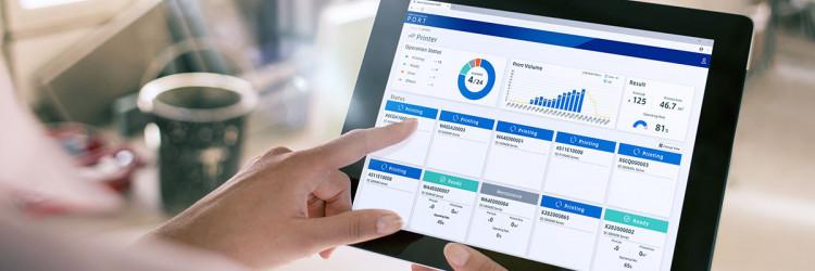 Prva usluga koja će se nuditi na platformi je Production Monitor, koji će pregledavati status proizvodnje u pravom vremenu