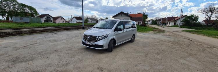 Vozili smo: Mercedes-Benz EQV 300 – električni kombi za najbolje