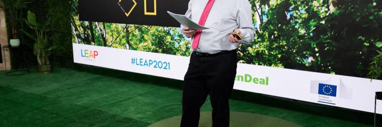 """LEAP je održan u online formatu, a bavio se inovacijama, otpornošću i održivošću, tehnologijama koje transformiraju poslovanje svih industrija te procesom digitalne i """"zelene"""" tranzicije Europske Unije"""