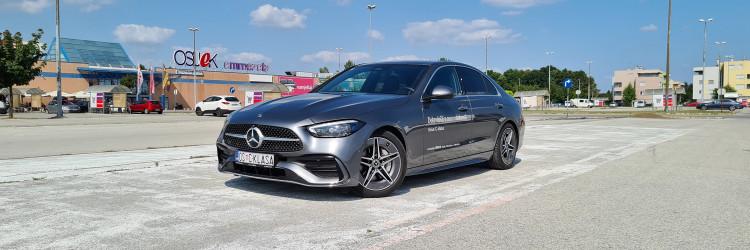 Nova C klasa izgledom vanjštine, ali i interijera oslanja se na najekskluzivniji Mercedes-Benz, naravno na S klasu