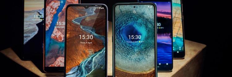 Na vrhu je Nokia X serija, zatim je srednja G serija i početna C serija koje pružaju kvalitetno iskustvo koje potrošači očekuju od europske mobilne tvrtke