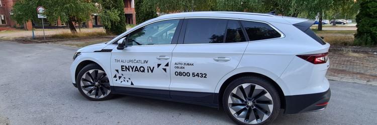 Nažalost prepreka do svega navedenog i testne Škoda Enyaq iV 80 je gotovo pola milijuna kuna