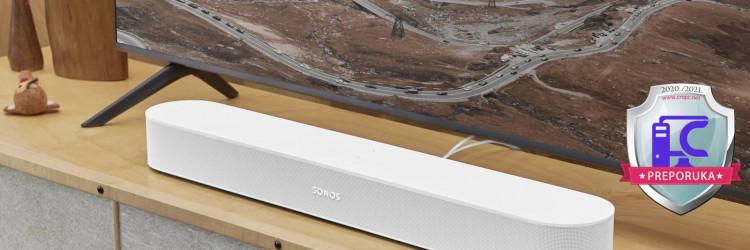 Sonos Beam u svojoj drugoj generaciji zadržao je gotovo identičan izgled kao i u svojoj prvoj generaciji