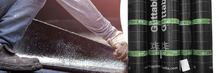 Za izolaciju podne ploče u prizemlju objekta koristimo Guttabit bitumenski premaz na koji polažemo Guttabau bitumenske trake