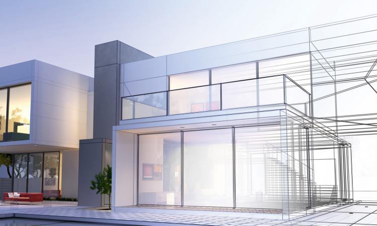 Novi sustav modernog dizajna omogućuje izradu elemenata u boji u visini prostorije s maksimalnim udjelom stakla pomoću potpuno skrivenog krila