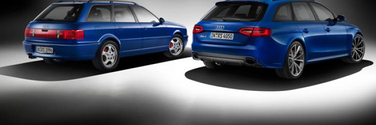 Povodom 20-godišnjice od predstavljanja prvog RS modela RS2, Audi je pokazao specijalnu seriju modela RS4 Avant Nogaro Selection