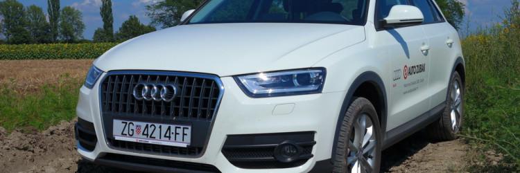 AutoZubak nam je ovog puta u ruke dao najmanji SUV iz tvornice s četiri prstena, Audi Q3 opremljen izvrsnim 2-litrenim TDI motorom koji mu odlično pristaje