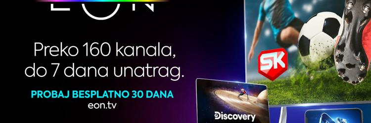 Uz desktop i mobilnu verziju aplikacije, EON je dostupan i putem aplikacije za Smart TV te EON Smart Boxa