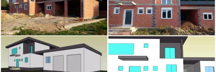 Nakon nekoliko godina pripremanja i planiranja, projekt gradnje niskoenergtske kuće portala CroPC.net konačno se počeo realizirati