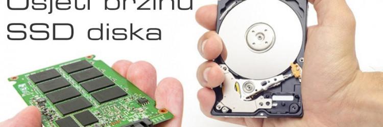 SSD, odnosno skraćenica za Solid State Drive, odnosno nama poznatiji kao disk baziran na memorijskim modulima ili jednostavno u narodu poznat kao SSD disk, sinonim je za brz i fluidan rad računala